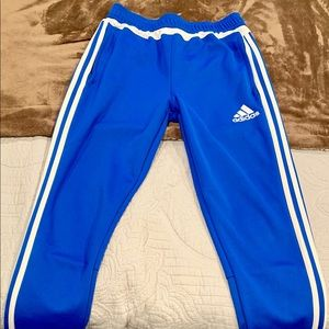 Adidas athletic pants size YL